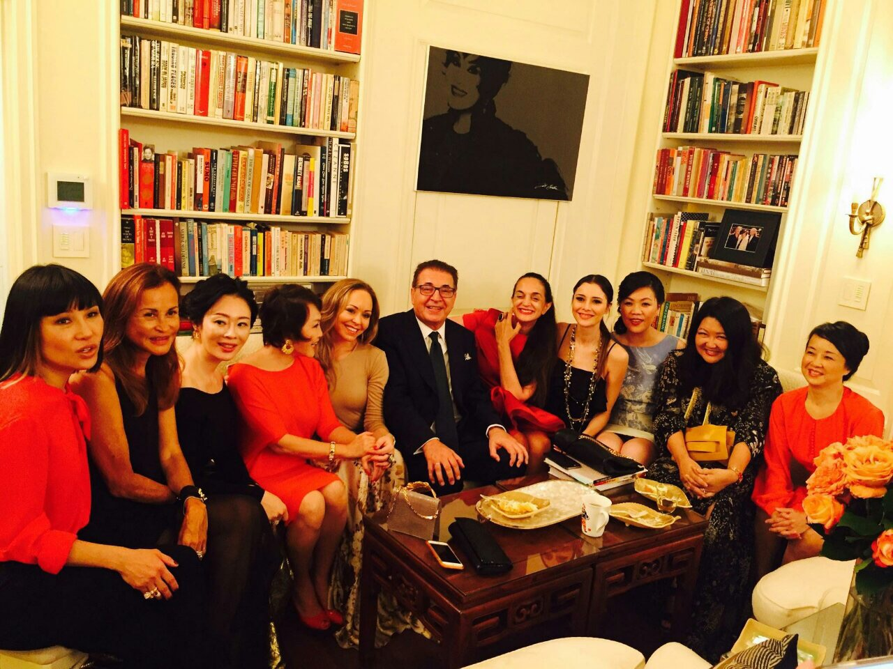 Dr. Kerim meets with business women in NYC